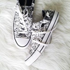 Converse Leopard Cheetah Animal Print Sneakers 10